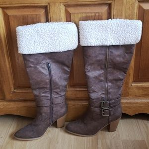 Just Fab boots 7.5